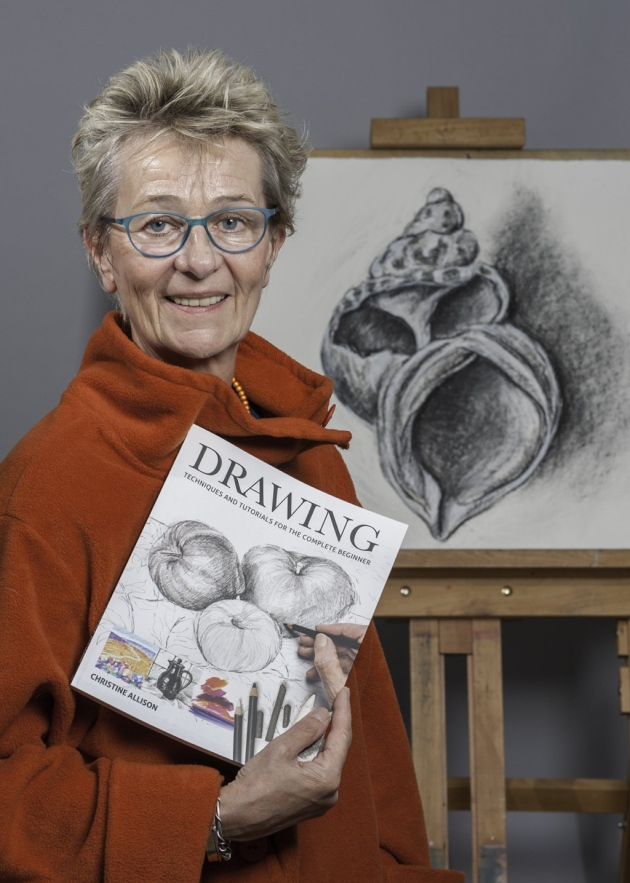 Christine Allison drawing workshop