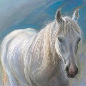 Rebecca de Mendonca - white horse