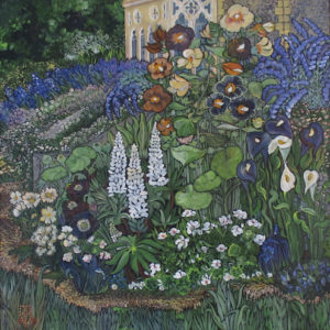 Gill Barron -wyld-flowerbed